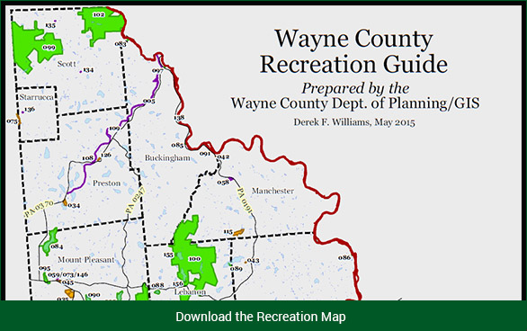 Visit wayne recreation mapg wayne county pennsylvania sciox Choice Image
