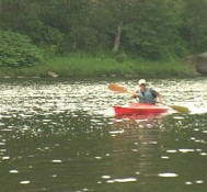 northeastern wilderness experiences kayaking with dan corrigan in honesdale pennsylvania
